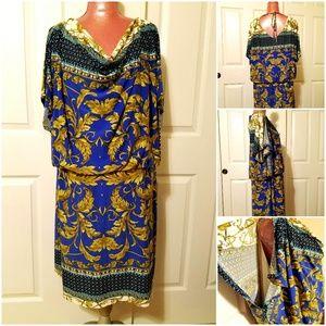 Sale🌷Woman Scarlett Floral Mid Dress Size 24W